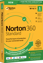 NORTON SECURITY 360 DELUXE SOFTWARE 1 DEVICE