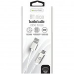 IESSENTIALS 6FT BRAIDED MICRO TO USB CABLE