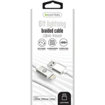 IESSENTIALS 6FT BRAIDED LIGHTNING TO USB CABLE