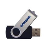 MOH SWIVEL FLASH DRIVE USB 3.0 BLACK 4GB