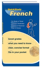 FRENCH QUICKSTUDY  BOOKLET