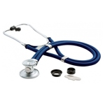 ADC 641 SPRAGUE LATEX FREE STETHOSCOPE W/ 5 INTERCHANGABLE CHEST PIECES (ADULT, PEDIATRIC, 3 BELLS)