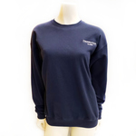 EMBROIDERED ALUMNI CREW NECK SWEATSHIRT NAVY
