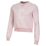 ALTERNATIVE WOMENS ECO TEDDY BABY CHAMP CROPPED SWEATSHIRT