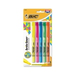 BIC BRITE LINER HIGHLIGHTER 5PK