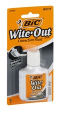 BIC QUICK DRY WITE OUT CORRECTION FLUID