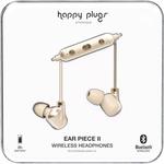 HAPPY PLUGS WIRELESS EAR PIECE II MATTE GOLD