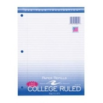 "150 SHEET FILLER PAPER COLLEGE RULED 8.5"" x 11"""