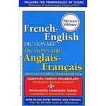 FRENCH ENGLISH  MERRIAM WEBSTER'S DICTIONARY