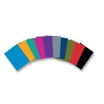 5 STAR 2 POCKET FOLDER ASSORTED SOLID COLORS