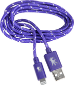 MEMORY ON HAND 8PIN TO USB LIGHTNING APPLE NYLON 5' CABLE