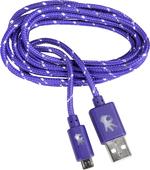 MEMORY ON HAND MICRO USB NYLON 5' CABLE