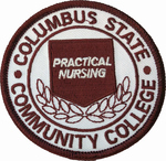 COLUMBUS STATE NURSING PATCH PN
