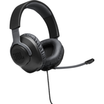 JBL QUANTUM 100 WIRED OVER-EAR GAMING HEADSET BLACK