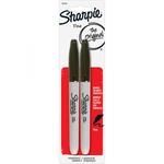 SHARPIE FINE BLACK MARKER 2PK