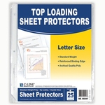 C-LINE TOP LOADING SHEET PROTECTORS 25 PACK