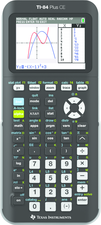 TI-84 PLUS CE GRAPHING CALCULATOR BLACK