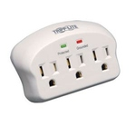 TRIPP LITE WALLMOUNT DIRECT PLUG-IN 3 OUTLET SURGE PROTECTOR