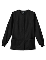 DENTAL/ MLT/ RESP BLACK WARMUP JACKET