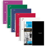 MEAD 5-STAR NOTEBOOK 3 SUBJECT, 150 SHEET, COLLEGE RULED, ASSORTED COLORS