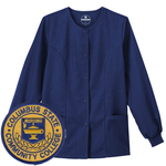 NAVY WARMUP JACKET W/ RN PATCH
