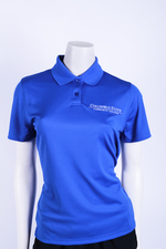 VANSPORT WOMENS OMEGA SOLID MESH TECH. POLO